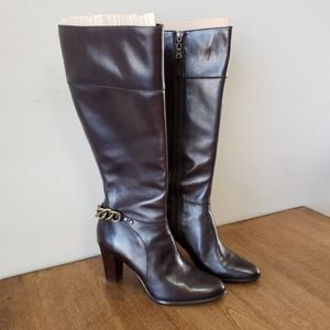 Harold's Fallon Heeled Brown Leather Boots